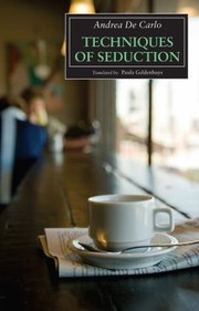 Cover of: Techniques Of Seduction
