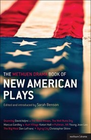 Cover of: The Methuen Drama Book Of New American Plays