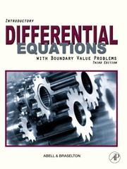 Cover of: Introductory Differential Equations With Boundary Value Problems