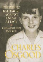 Cover of: Defending Baltimore against enemy attack | Charles Osgood