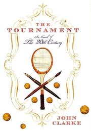 The tournament by Clarke, John