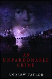 Cover of: An unpardonable crime