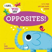 Cover of: Opposites