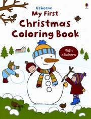 Cover of: My First Christmas Coloring Book