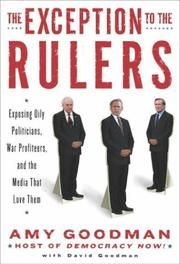 Cover of: The exception to the rulers