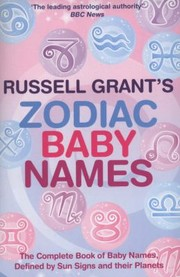 Cover of: Russell Grants Zodiac Baby Names