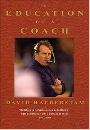 Cover of: EDUCATION OF A COACH, THE
