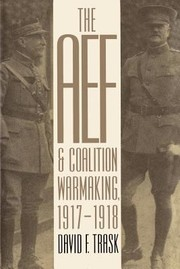 Cover of: The AEF and Coalition Warmaking 19171918