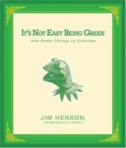 Cover of: It's not easy being green