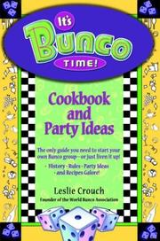 Cover of: It's Bunco Time! Cookbook and Party Ideas