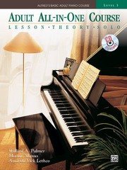 Cover of: Adult Allinone Course Lesson Theory Solo