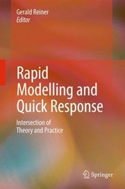 Cover of: Rapid Modelling And Quick Response Intersection Of Theory And Practice