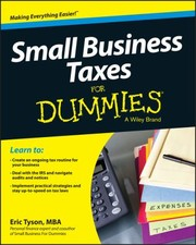 Cover of: Small Business Tax Kit For Dummies