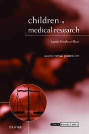 Cover of: Children In Medical Research Access Versus Protection