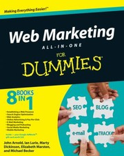 Cover of: Web Marketing Allinone Desk Reference For Dummies
