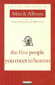Cover of: Five People You Meet in Heaven, The