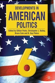 Cover of: Developments In American Politics 6