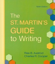 Cover of: The St Martins Guide To Writing 9th Ed Compclass
