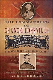 Cover of: The commanders of Chancellorsville