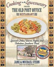 Cover of: Cooking in the Lowcountry from The Old Post Office Restaurant | Jane Stern