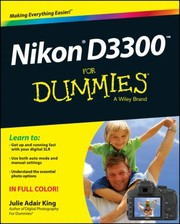 Cover of: Nikon D3300 For Dummies