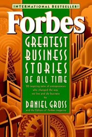 Cover of: Forbes Greatest Business Stories Of All Time