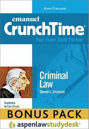 Cover of: Crunchtime Criminal Law Print Ebook Bonus Pack