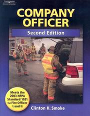Cover of: Company Officer