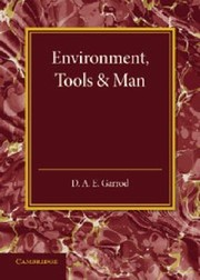 Cover of: Environment Tools and Man