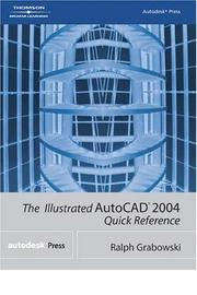 Cover of: The illustrated AutoCAD 2004 quick reference