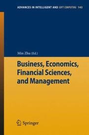 Cover of: Business Economics Financial Sciences And Management