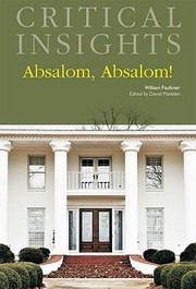 Cover of: Absalom Absalom By William Faulkner