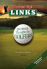 Cover of: Power Up Links Devotional Thoughts For Golfers
