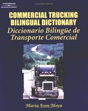 Cover of: Commercial Trucking Bilingual Dictionary