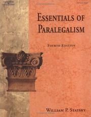 Essentials of Paralegalism (West Legal Studies)