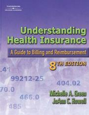 Cover of: Understanding Health Insurance | Jo Ann C. Rowell, Michelle A. Green
