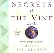 Cover of: Secrets of the Vine Cards