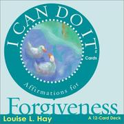 Cover of: I Can Do It Cards, Forgiveness (I Can Do It Cards)