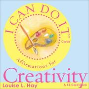 Cover of: I Can Do It Cards, Creativity (I Can Do It Cards)