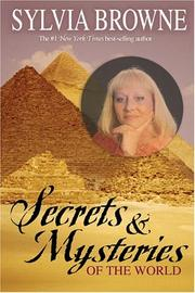 Cover of: Secrets & Mysteries of the World | Sylvia Browne