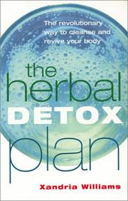 Cover of: Herbal Detox Plan