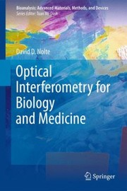 Cover of: Optical Interferometry For Biology And Medicine