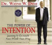 Cover of: The Power of Intention