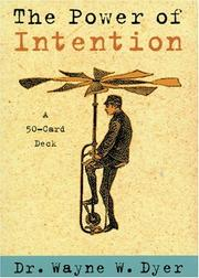 Cover of: The Power of Intention Cards