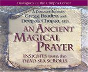 Cover of: An Ancient, Magical Prayer: Insights from the Dead Sea Scrolls