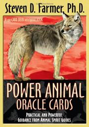 Cover of: Power Animal Oracle Cards