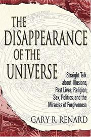 Cover of: The Disappearance of the Universe