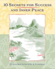 Cover of: Notecards: 10 Secrets for Success and Inner Peace