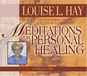 Cover of: Meditations for Personal Healing