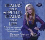 Cover of: Healing Your Appetite, Healing Your Life | Doreen Virtue